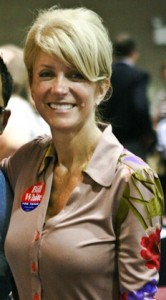 Texas Senator Wendy Davis of Ft. Worth (Courtesy of the Bill White for Texas Campaign, creative commons license)